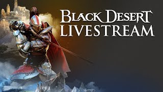 Black Desert PS4 Launch Day Livestream