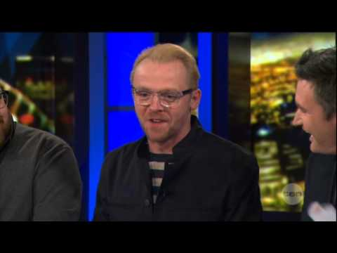 Nick Frost & Simon Pegg interview on The Project (2013) - The World's End