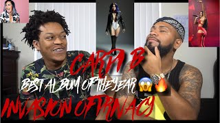ALBUM OF THE YEAR !!!! **FULL ALBUM REVIEW/REACTION** CARDI B ! 13 HITS STRAIGHT !| REACTION