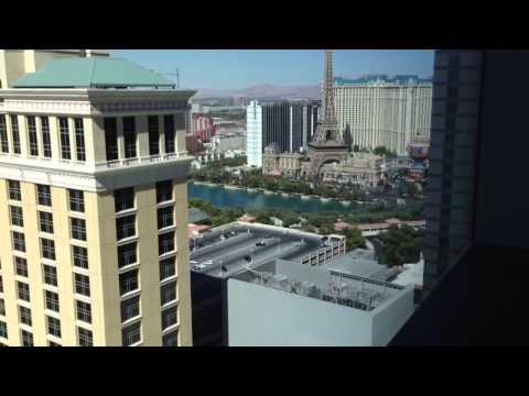 Vdara hotel Las Vegas deluxe room