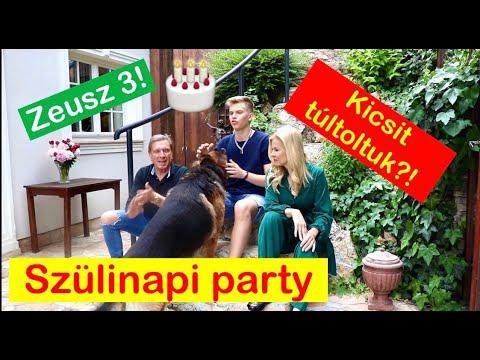 KI A LEGNAGYOBB KUTYA A HÁZNÁL? - extrém családi szülinapi party- Zeuszos story time