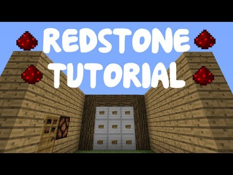 Minecraft 1.7: Redstone Tutorial - Bow & Arrow Keypad Lock!