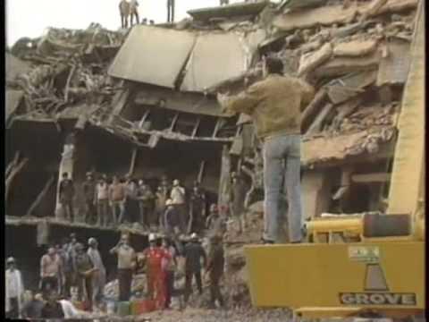 Earthquake Mexico 1985 - YouTube