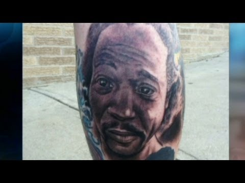 Man gets Charles Ramsey tattoo