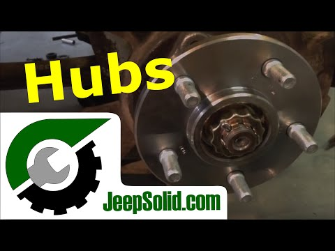 Hub replacement: jeep wrangler yj hubs