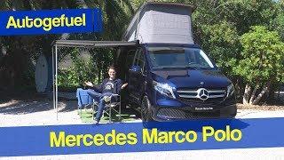 New Mercedes Marco Polo REVIEW V-Class Camper Facelift - Autogefuel