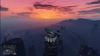 Game | GTA V Easy way to get on top of the Maze Bank building | GTA V Easy way to get on top of the Maze Bank building