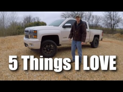 5 Things I LOVE about my 2014 Chevy Silverado (High Country)
