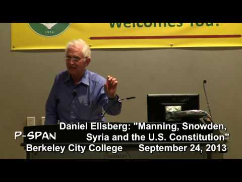 P-SPAN #327: Daniel Ellsberg at Berkeley City College - Part 1