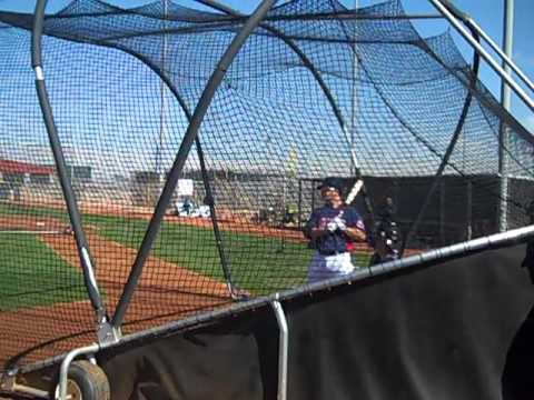 VIDEO: Live Batting Practice - Justin Masterson