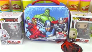 Avengers Age of Ultron Giant Surprise Lunch Bag with Minecraft Toys and More!