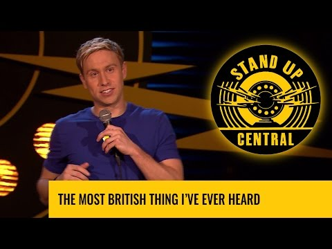 The most British thing I've ever heard