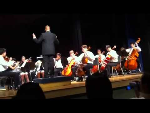 Spring Forest Middle school symphony Ocean storm