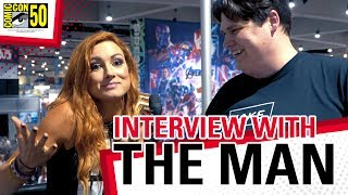 The Man Becky Lynch Drops Her Hottest Puns! Exclusive Interview at SDCC