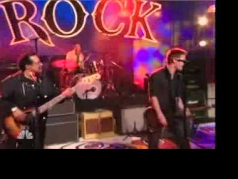 Voodoo Amps V-Plex on Jay Leno with Brad Whitford and Experience Hendrix