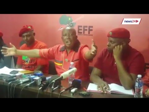 ''Let us come together in defense of the constitution' - Malema