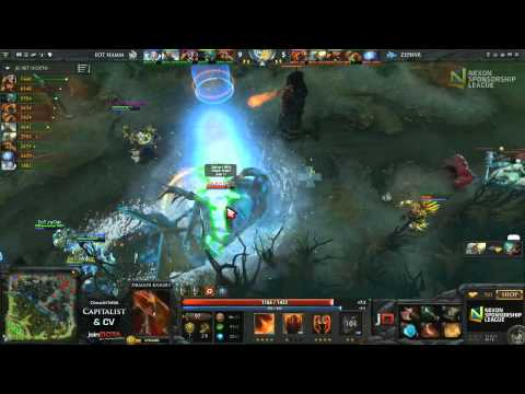 Zephyr vs EoT H Game 5 - Nexon Sponsorship League DOTA 2 - Capitalist & CV