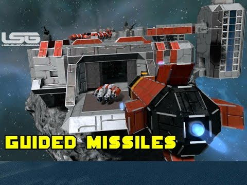 Space Engineers - Remotely Guided Missiles & Booby Trapped Ships