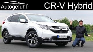 Honda CR-V Hybrid FULL REVIEW 2020 - Autogefühl