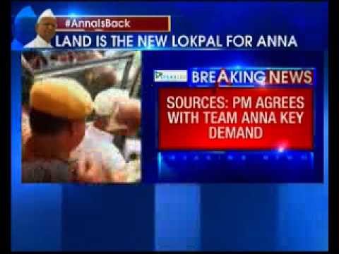 Rajnath Singh and team Anna meeting over, PM agrees with team Anna demand