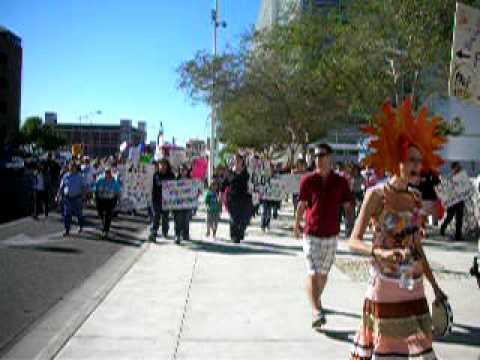 11.15.2008 Gay Rights protest in Phoenix, Arizona USA