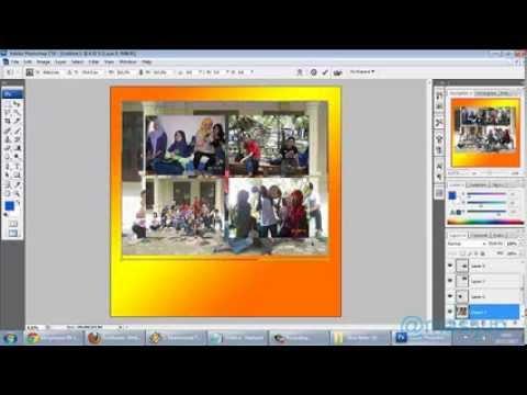 Cara Menggabungkan Foto dengan Photoshop CS3