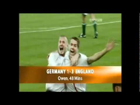 Michael Owen England Career Goals and Assists Part 1