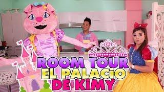 El Palacio de kimy- ROOM TOUR - Me Convierto en Princesa / kids Play