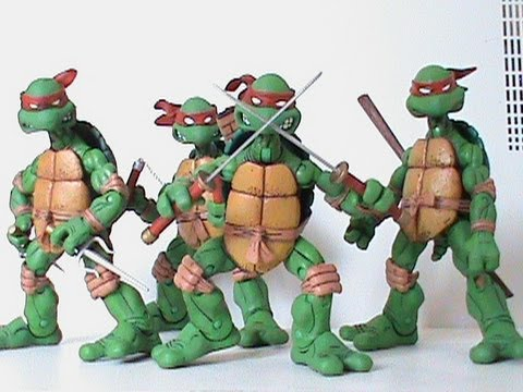 TMNT NECA Teenage Mutant Ninja Turtles Figure Review