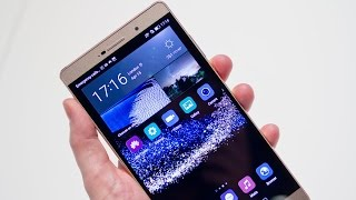 Huawei P8 unboxing and tour!!!!