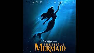 Part Of Your World Little Mermaid Ost Karaoke Version Piano Playback