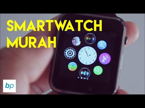 APPLE WATCH 100 RIBUAN?? SMARTWATCH A1 Unboxing & Review INDONESIA | Bukapaket
