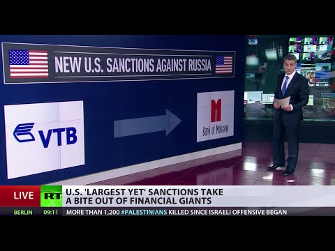 Cold War Strategy: US hits Russian energy & finance sectors with more sanctions