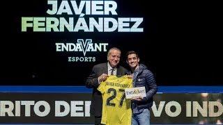 Javier Fernández - Premio Endavant al Mérito Deportivo Individual 2018