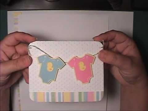 Lifes a Party Cricut cartridge Baby Shower Initation - YouTube