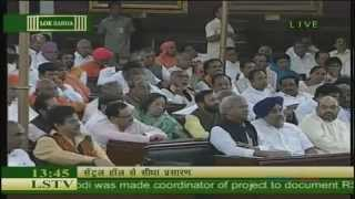 BJP Parliamentary meeting in the Central Hall of Parliament NDA