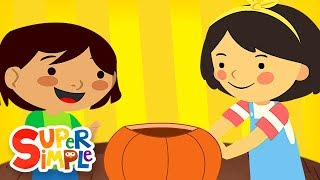 This Is The Way We Carve A Pumpkin | Super Simple Songs