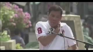 President-elect Rodrigo Duterte Speech During Flag Raising Ceremony in Davao City Hall - 2/3