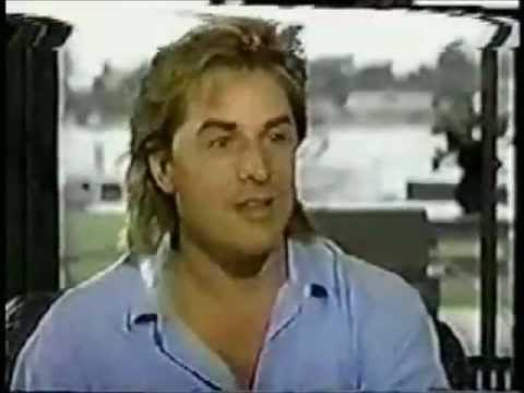 DON JOHNSON 1987 Interview with Barbara Walters at his home then in Miami
