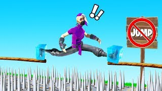 You JUMP You LOSE Challenge! (Fortnite Creative)