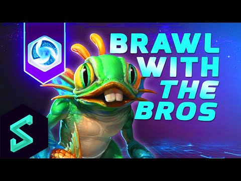 Heroes of the Storm Gameplay | Brawl With The Bros 12 | MFPallytime & Hengest | Heroes of the Storm