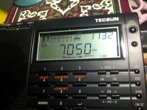 Monitoring Amateur Radio QSO with Tecsun PL660 SW Radio