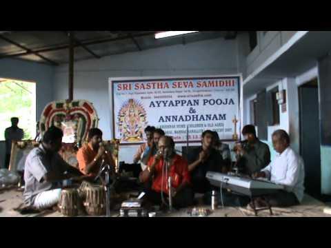SRI SASTHA SEVA SAMIDHI (SSSS) AT KRISHNA HOME. IRUMUDI THANGI...