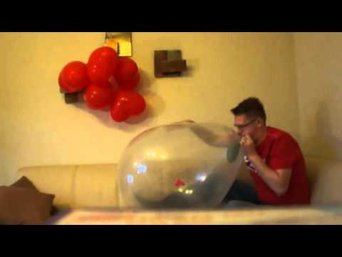 b2p balloons in a chinese balloon and sit 2 pop