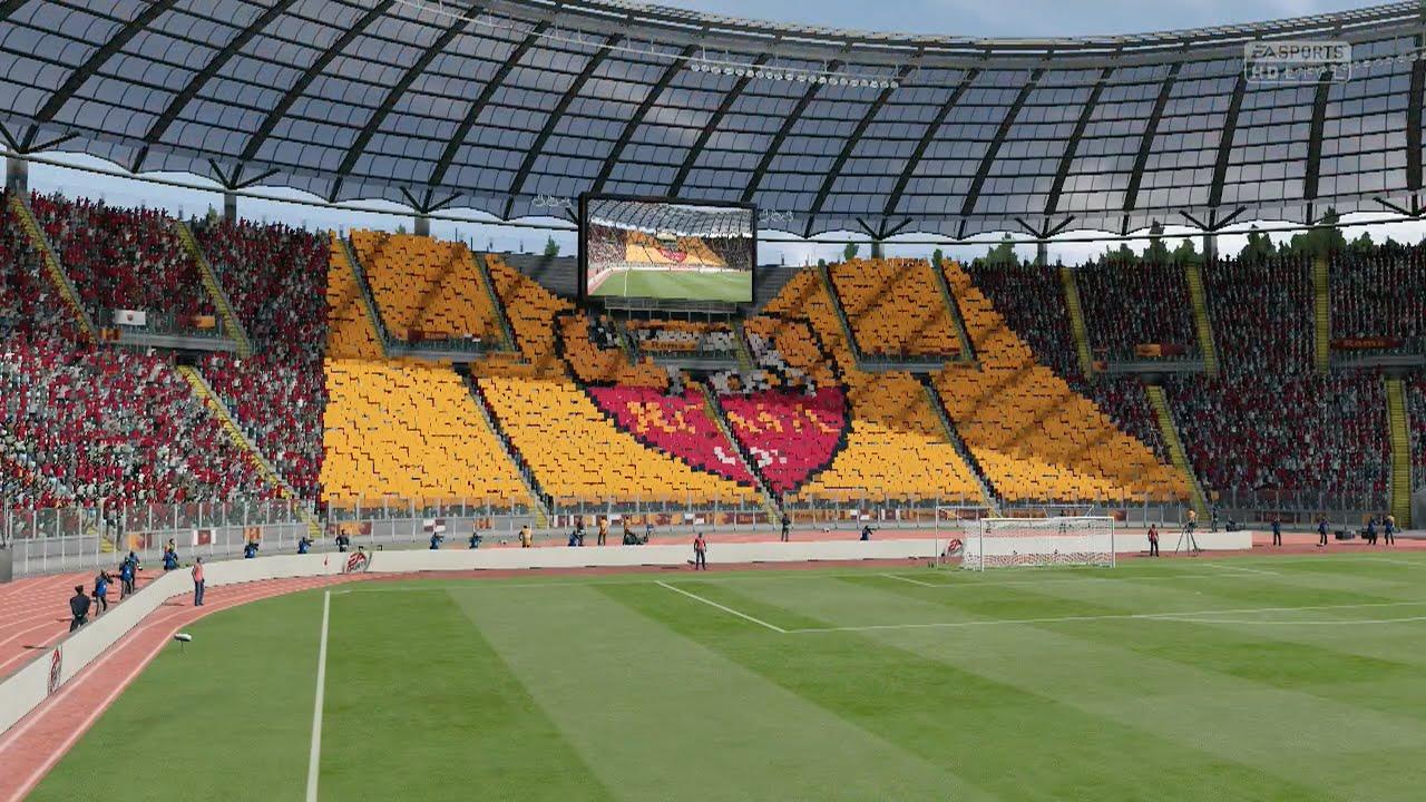 Fifa  As Roma Vs Lazio Derby Della Capitale St