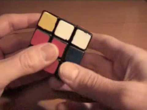 Видео как собрать кубик рубик