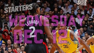 NBA Daily Show: Dec. 12 - The Starters
