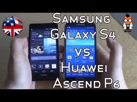 Huawei Ascend P6 vs Samsung Galaxy S4 Comparison