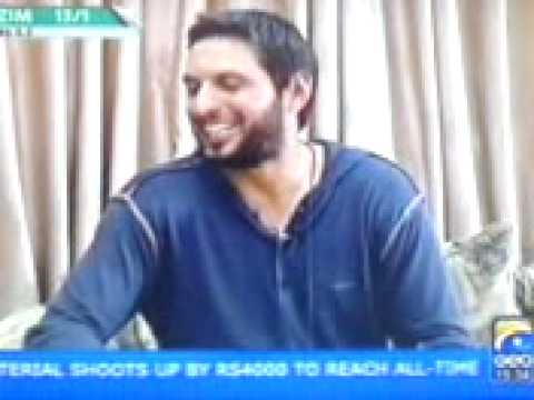 Shahid Afridi wants second Bride any Sexy Girl there?