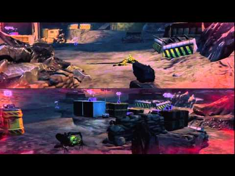 21 Aliens: Colonial Marines Co-op Split Screen Ultimate Badass Gameplay HD PS3